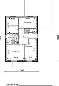 RW04 verdieping