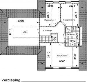 Type RW02 verdieping