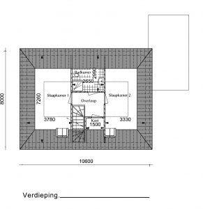 Type RW05 verdieping