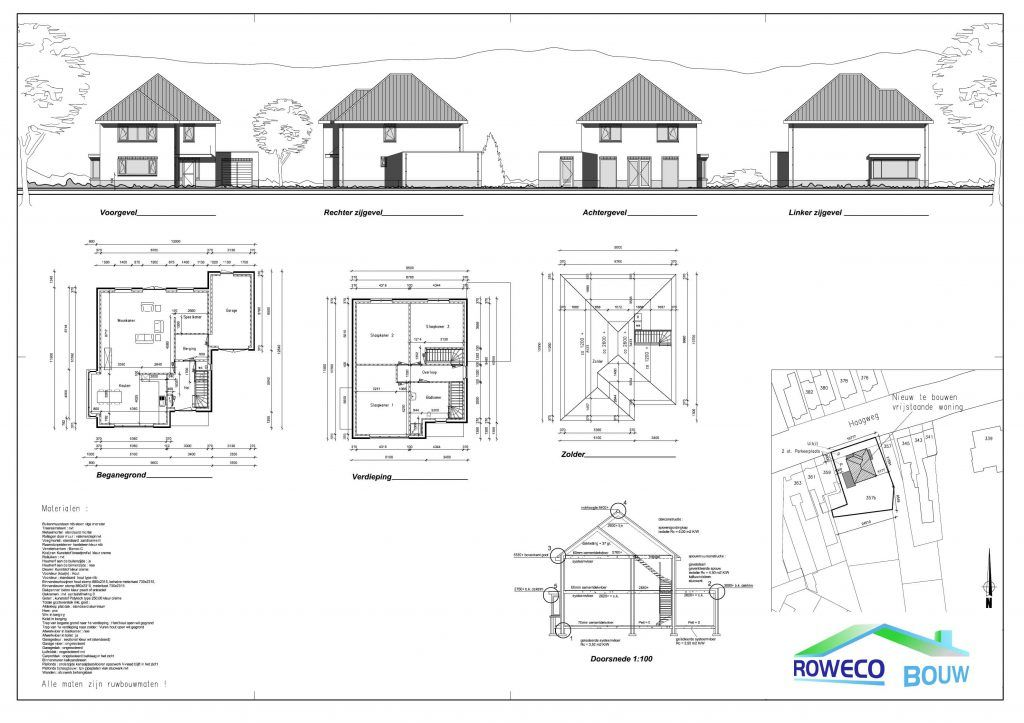 Rw32 woning bouwen breda roweco bouw for Huis bouwen stappen