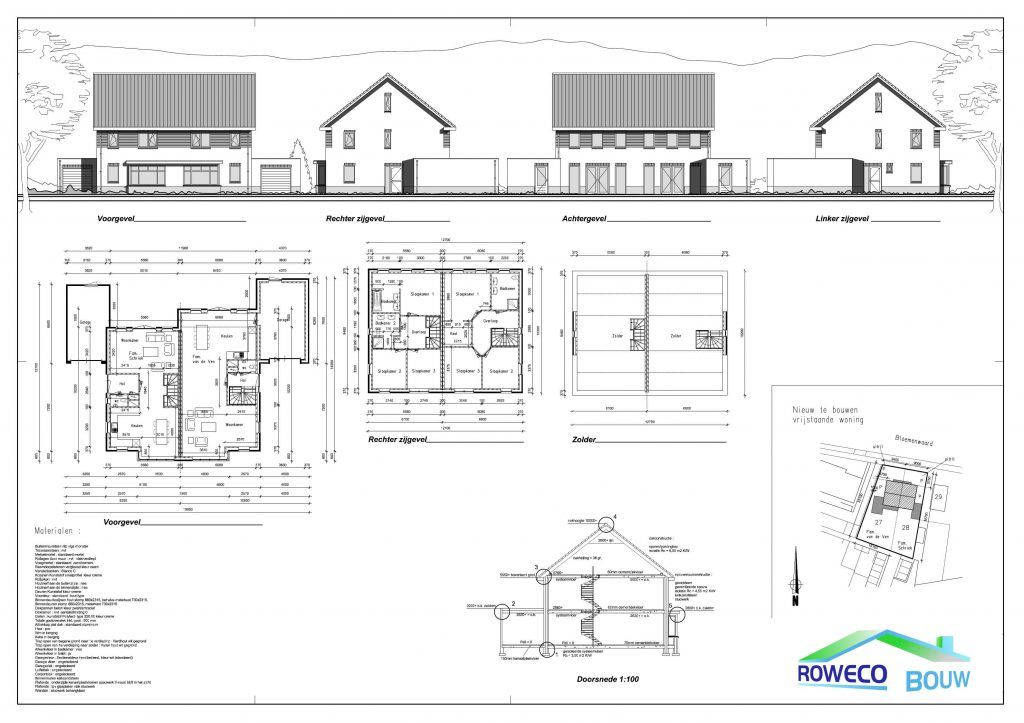 Rwd07 woning bouwen cothen roweco bouw for Huis bouwen stappen