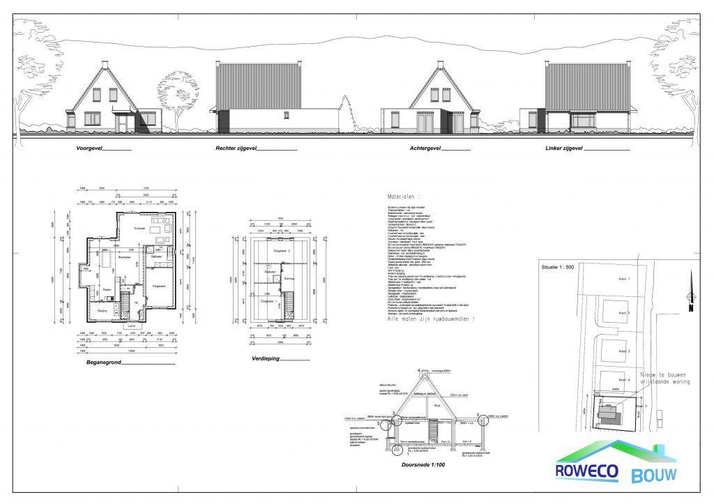 bouwtekening seniorenwoning