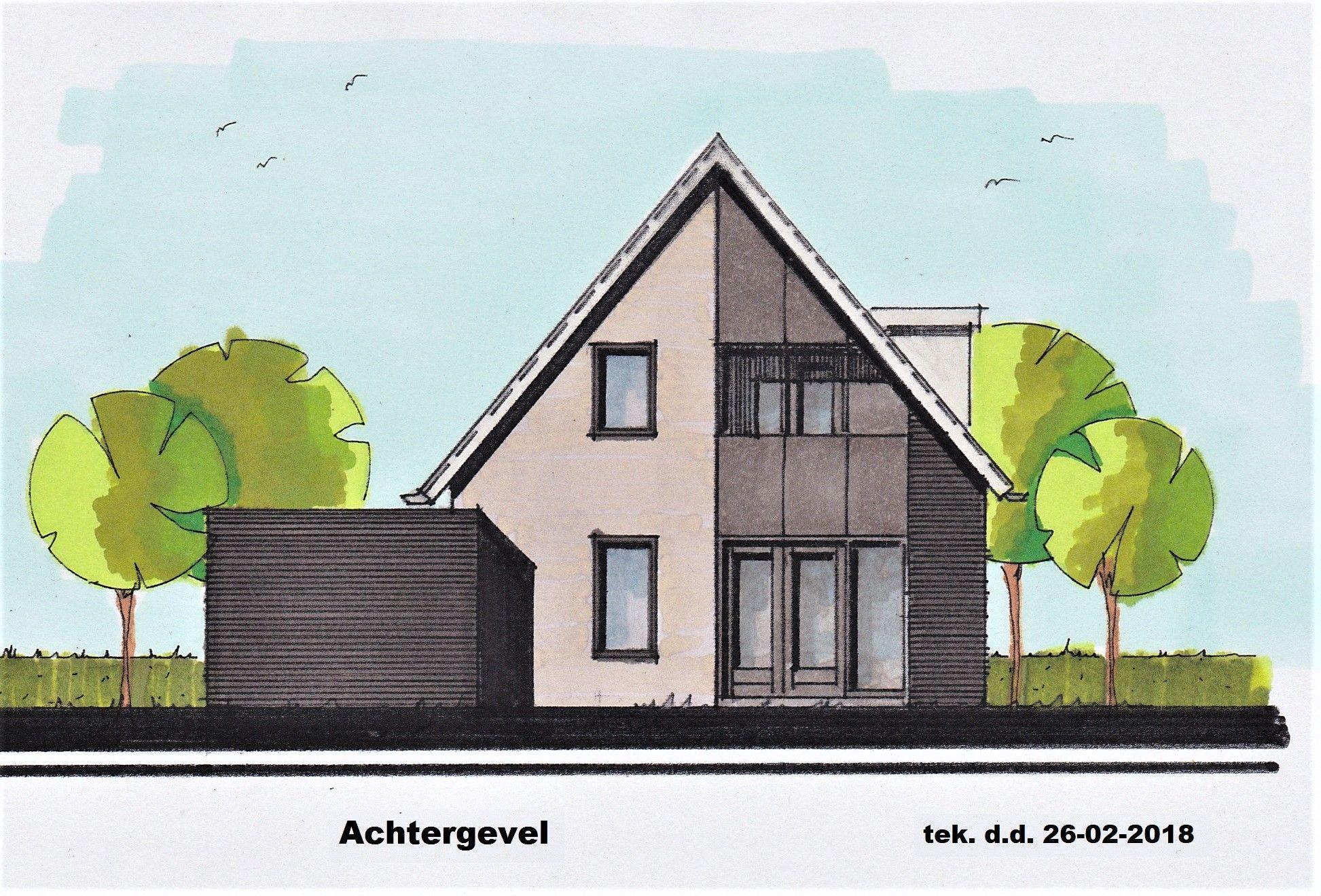 Schets van een woning ontwerpen roweco bouw for Zelf woning ontwerpen