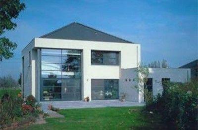 Moderne woning bouwen roweco bouw for Huis bouwen stappen