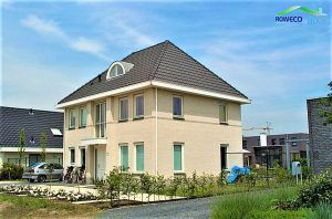 Rowecobouw bouwt huizen in Zuidland