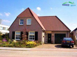 vrijstaande woning opgeleverd door Rowecobouw in Dongen