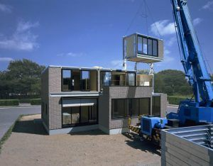 prefab woning opbouwen