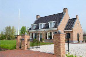 huis gebouwd door van weenen bouwbedrijf in samenwerking met rowecobouw