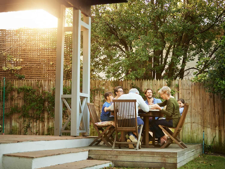 gezellig met het gezin in de tuin van je nieuwbouw woning