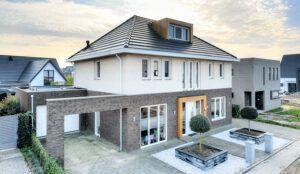 nieuwe woning gebouwd door Rowecobouw
