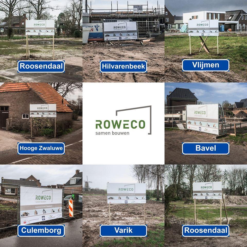 woningen gebouwd door Rowecobouw